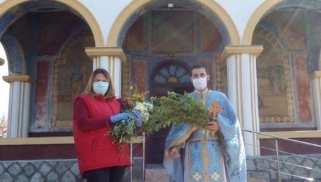 Salcie sfințită în toate satele comunei Peștișani