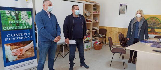Întâlnire DSP Gorj-beneficiari proiect Bunicii Comunității Peștișani