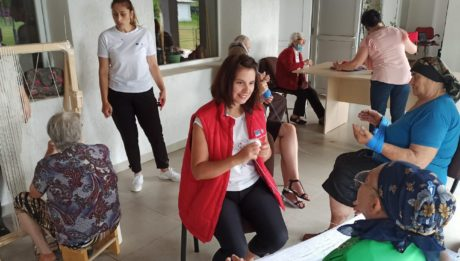 Atelier de creație-covoare artizanale oltenești