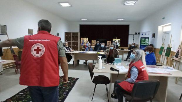Vizită Crucea Roșie