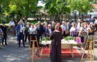 Momente emoționante, azi, la Nunta de Aur a bunicilor din Peștișani